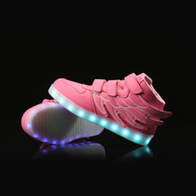Flying Kids Led Shoes - Pink