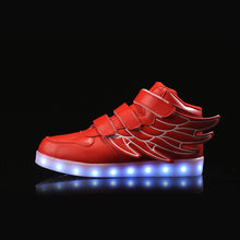Flying Kids Led Shoes - Red