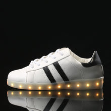 Led Tennis Shoes - White