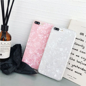 Popular Shell Glitter Phone Cases Mix Colors - All Models