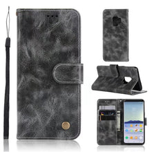 New Arrival S9 Genuine Leather Slim Wallet Stand Phone Case - All Models
