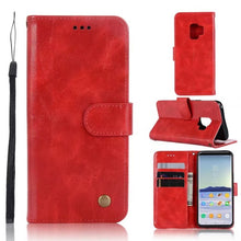 Load image into Gallery viewer, New Arrival S9 Genuine Leather Slim Wallet Stand Phone Case - All Models