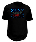 Sound Activated Club Led T-Shirt