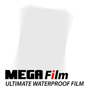 "Inkjet Film Sheets - 11"" x 17"", Fast drying, Waterproof Type Film For Screen Printers"