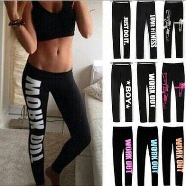 Work Out Leggings - All Color