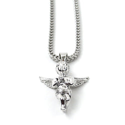 Micro Angel Piece White Gold Edition