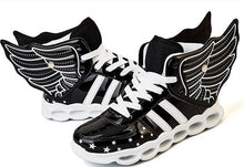 New Flying Led Shoes - Black