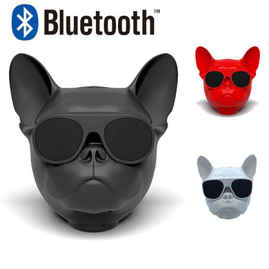 Popular Bulldog Wireless Speaker Portable Bluetooth Bass Stereo - All Colors