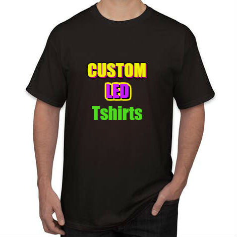 Sound Activated Custom Led T-Shirt