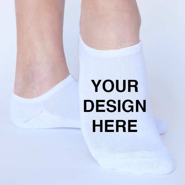 Wholesale Custom Unisex 3D Printed Socks - 100 Pack