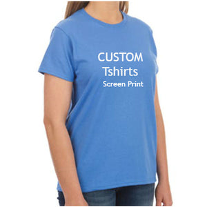 Custom Logo Ultra Cotton T‑shirts - Women