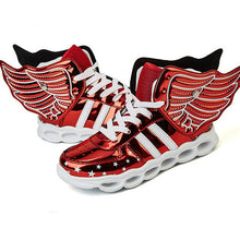 New Flying Led Shoes - Red