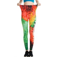 Rainbow Color Fashion Leggings