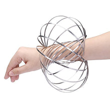 Load image into Gallery viewer, Popular Flow Ring for wholesale, Kinetic Spring Toy 3D Sculpture Ring