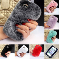 Popular Fur Phone Cases Mix Colors - All Models