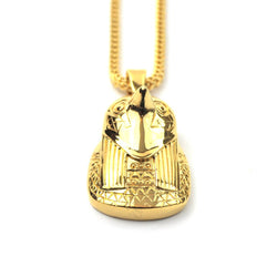 PVD 18K Gold Horus Piece Necklaces