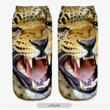 Unisex 3D Jaguar Printed Socks - 6 Pack