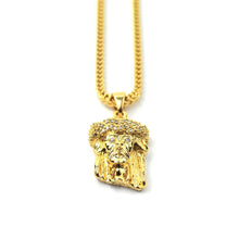 PVD 18K Jesus Piece Necklace