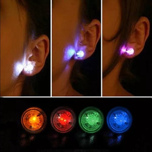 Wholesale Flash LED Earrings - 1 Pair