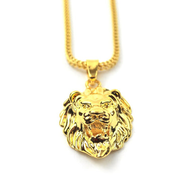 PVD 18K Lion Head Necklaces