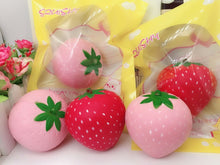 Wholesale Medium Strawberry Squishy - 8cm