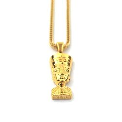 18K Nefertiti Piece Necklace