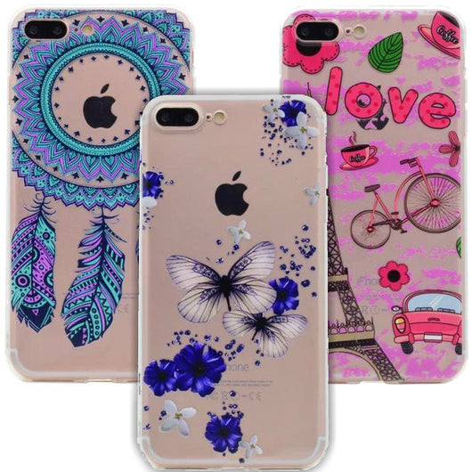 Printed Newly Designed Phone Cases Mix Styles - All Models
