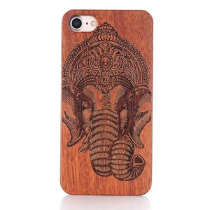Handmade Laser Carved Wood Iphone Cases - Mix Styles