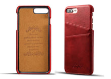 Leather Credit Card Holder Phone Cases Mix Colors - All Models