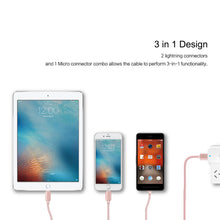 3 in 1 Charging USB Cables - All Colors