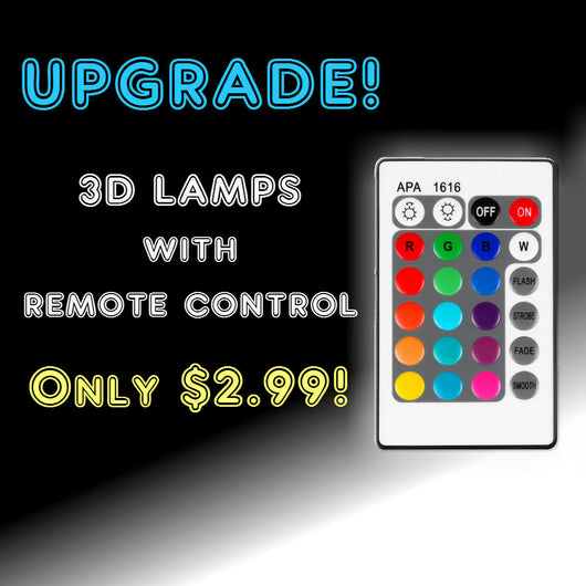 Remote Control for Led Lamps
