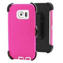 Samsung Heavy Duty Life Proof Built-in Screen Protector and Belt Clip Defender Cases Mix Colors - All Models