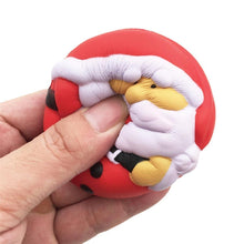Wholesale Medium Santa Super Slow Rising Squishy Toy - 7cm