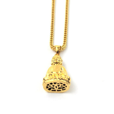 18K Buddha Piece Necklace