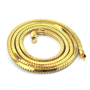 PVD 18K Gold Snake Box Chains