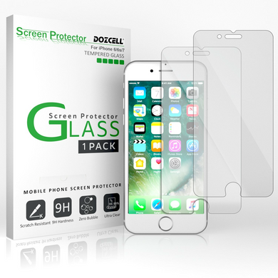 Tempered Glass Screen Protectors Scratch Free and Bubble Free - All Models