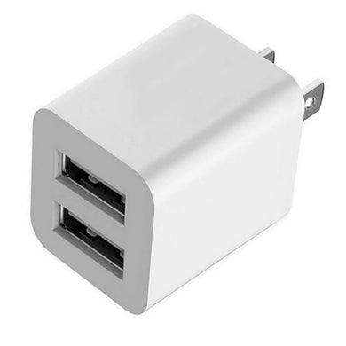 USB Wall Charger, 12W Universal Portable Travel Adapter High Speed - 2 Port