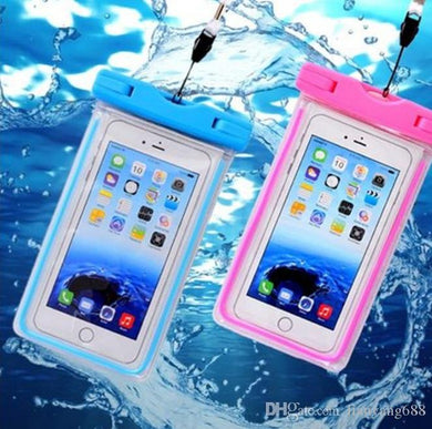 Waterproof Bag Phone Case Glow In The Dark Underwater Pouch