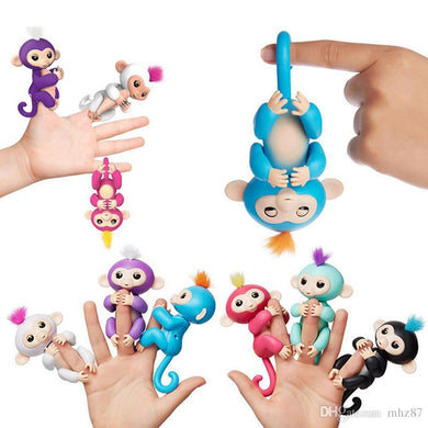 Wholesale Finger Monkey Toy Interactive Baby Monkeys