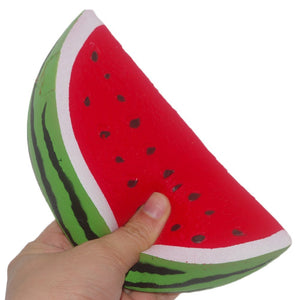 Wholesale Jumbo Watermelon Fruit Scented Bread Squishy - 15cm