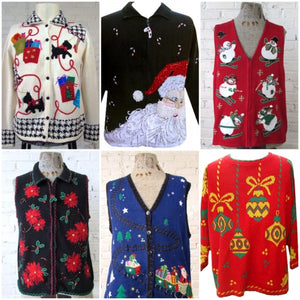 wholesale ugly christmas vintage sweaters bulk vintage christmas sweaters - Vintage Christmas Sweater