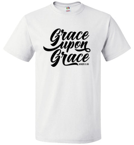 Grace Upon Grace - Unisex Men's T-Shirt