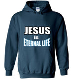 Jesus Eternal Life - Hoodie - Scripture on Back