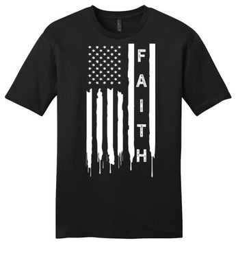 For God & Country (Faith) - Mens Tee