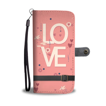 LOVE - Christian Wallet Phone Case
