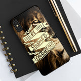 """Be Strong & Courageous"" Case Mate Tough Phone Cases"