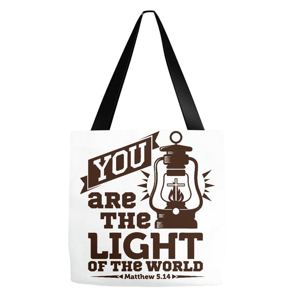 Christian Light Of The World - Premium Tote Bag