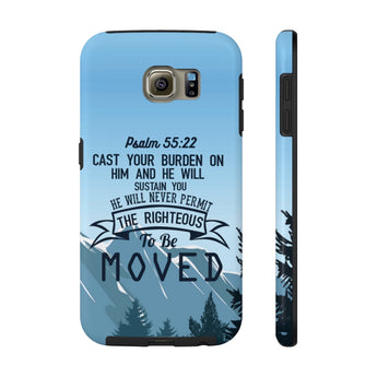 """Cast Your Burden on Him"" Case Mate Tough Phone Cases"