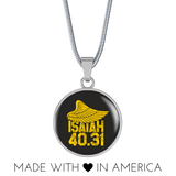 Isiah 40:31 - Luxury Christian Necklace