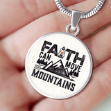 Faith Can Move Mountains - Luxury Christian Necklace